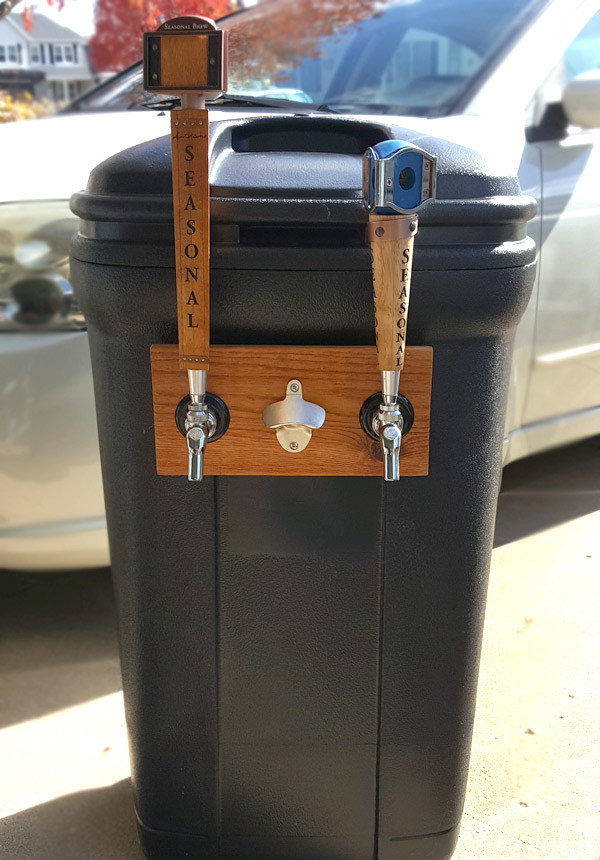 Best ideas about DIY Trash Can . Save or Pin DIY Trash Can Kegerator American Homebrewers Association Now.