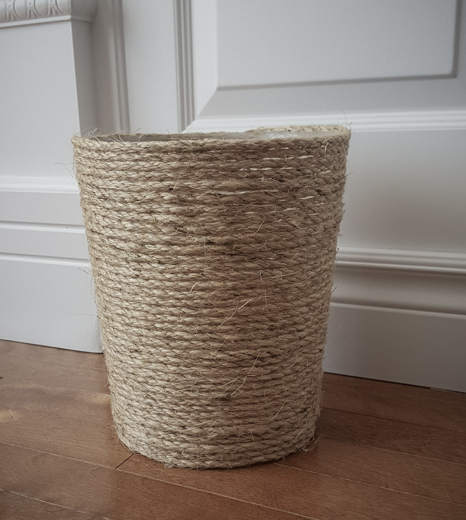 Best ideas about DIY Trash Can . Save or Pin Easy upgrade of a trash can Now.