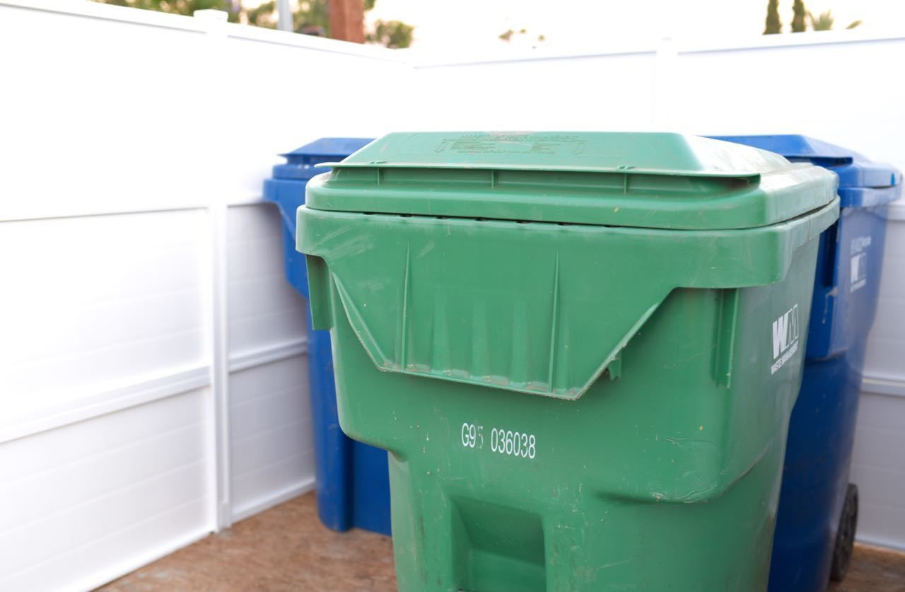 Best ideas about DIY Trash Can . Save or Pin Trash Can Enclosure DIY Giveaway Make Life Lovely Now.