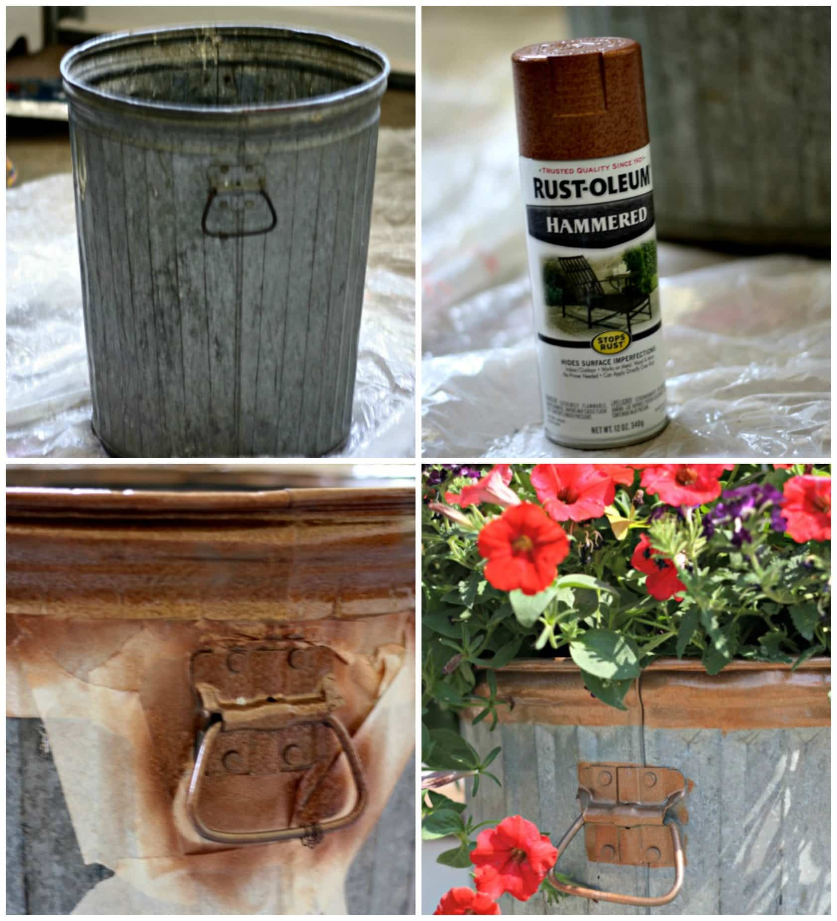 Best ideas about DIY Trash Can . Save or Pin Trash to Treasure Garbage Can Flower Planter DIY The Now.