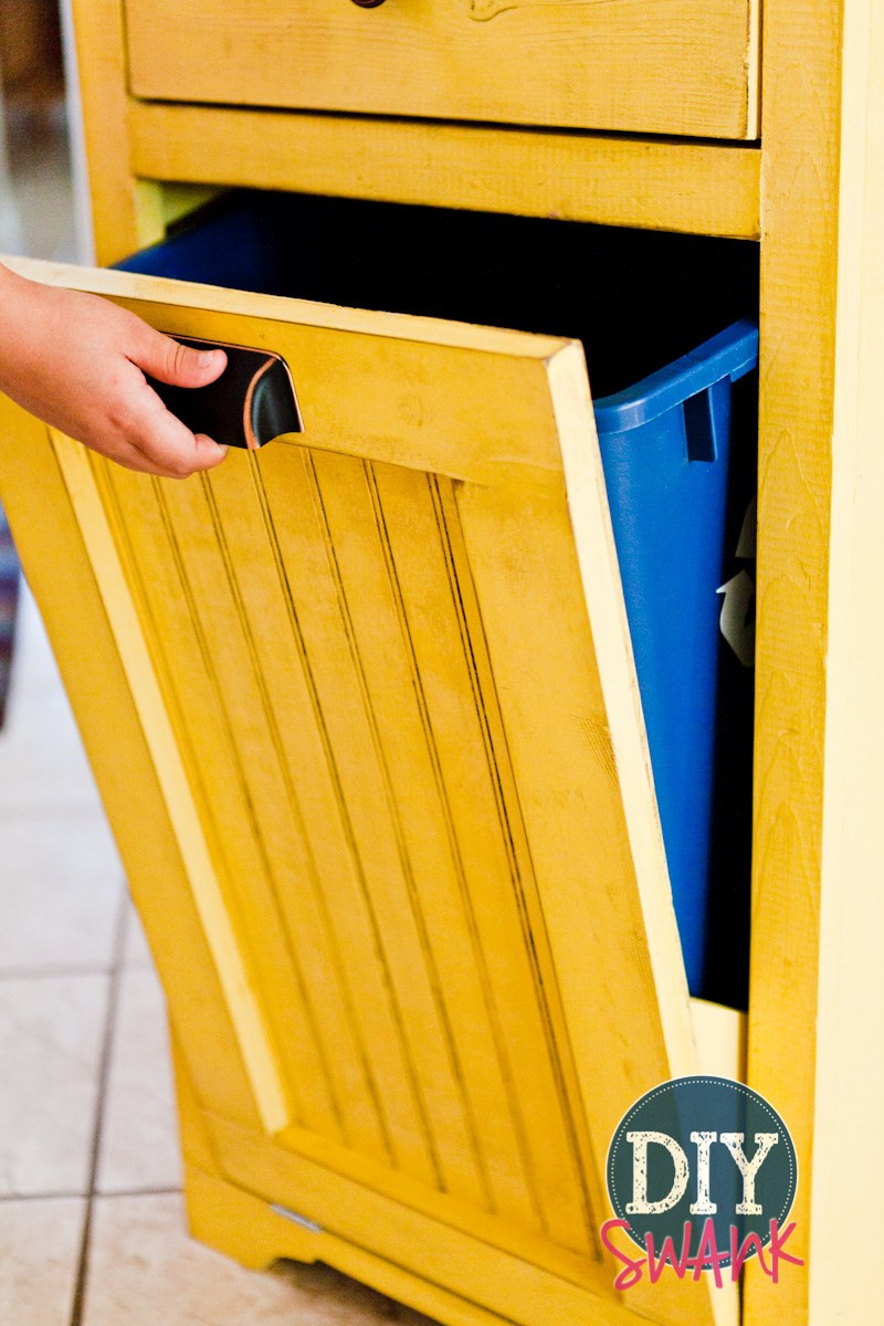 Best ideas about DIY Trash Can . Save or Pin DIY Tilt Out Trash Bin Now.