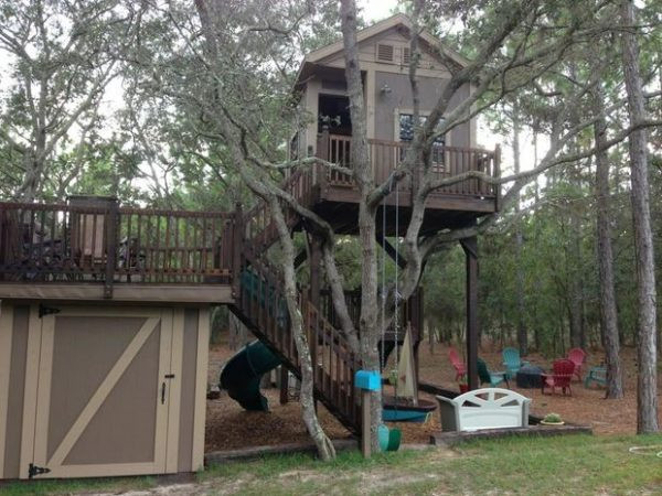 Best ideas about DIY Treehouse Plans Free . Save or Pin 30 DIY Tree House Plans & Design Ideas for Adult and Kids Now.
