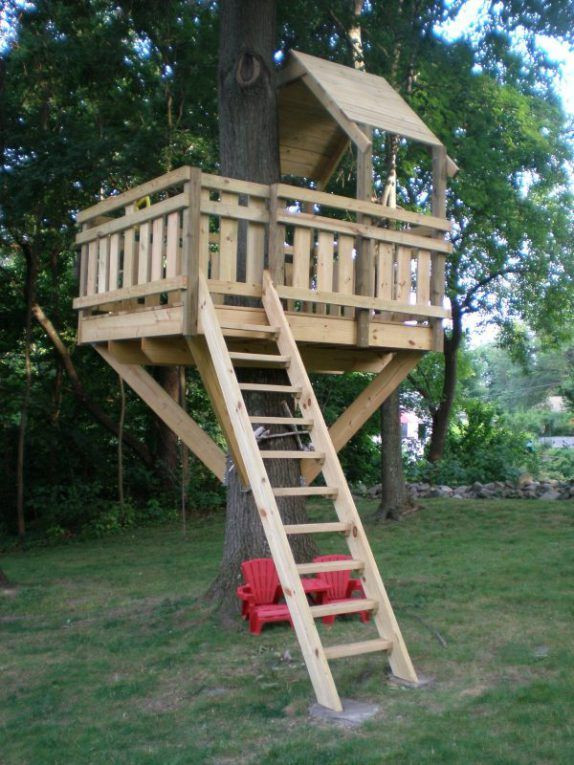 Best ideas about DIY Treehouse Plans Free . Save or Pin 30 Free DIY Tree House Plans to Make Your Childhood or Now.