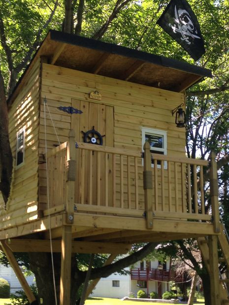 Best ideas about DIY Treehouse Plans Free . Save or Pin 9 DIY Tree Houses With Free Plans To Excite Your Kids Now.