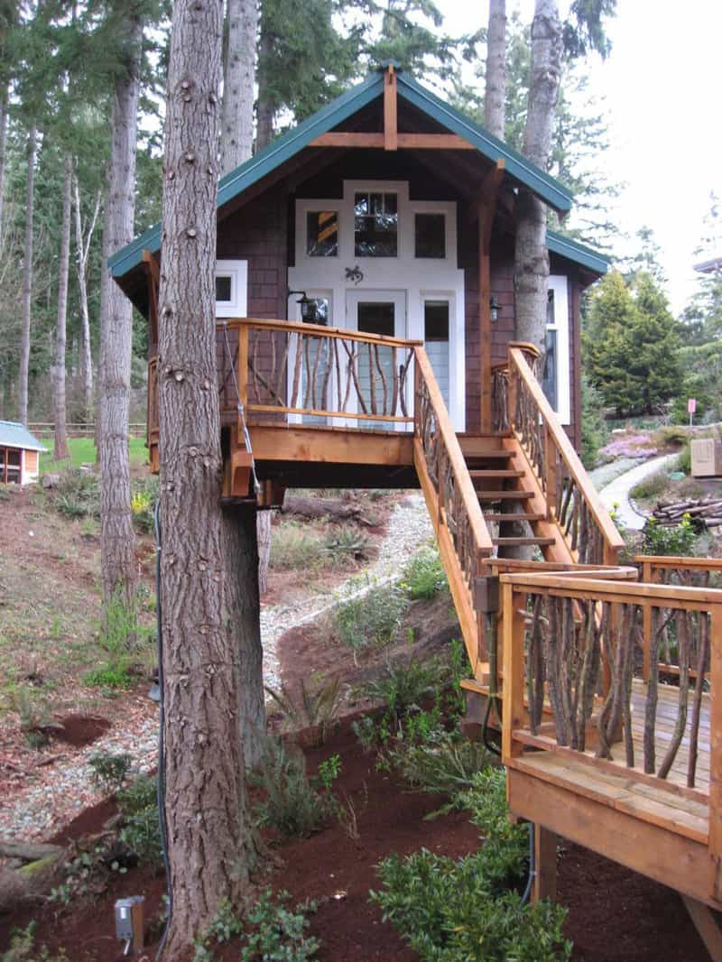 Best ideas about DIY Treehouse Plans Free . Save or Pin How to Build a Treehouse in the Backyard Now.