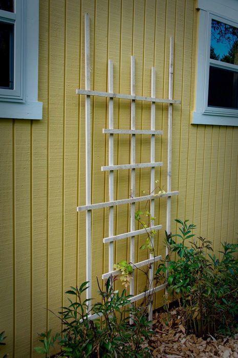 Best ideas about DIY Trellis Plans . Save or Pin Make a Garden Trellis Curbly Now.