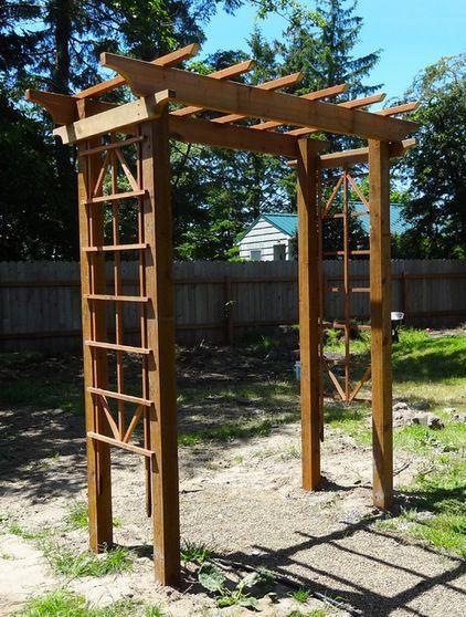 Best ideas about DIY Trellis Plans . Save or Pin DIY Arbor by Meg Pad t Free plans for a gorgeous arbor Now.