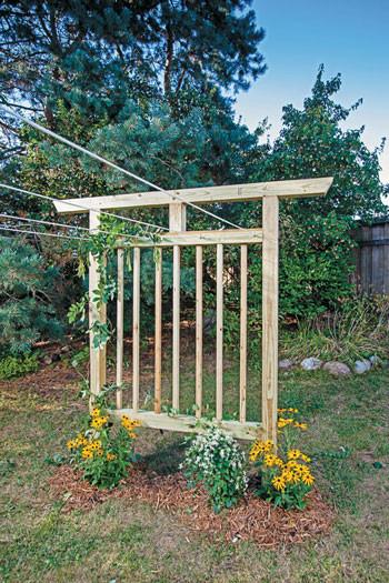 Best ideas about DIY Trellis Plans . Save or Pin Multi Purpose Garden Trellis Plans DIY MOTHER EARTH NEWS Now.