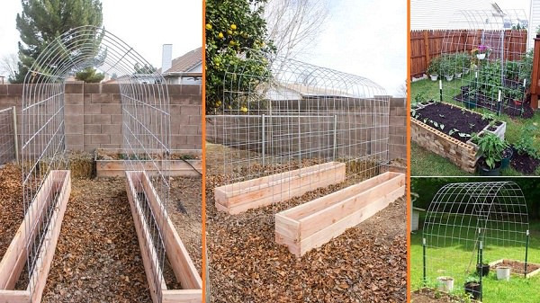 Best ideas about DIY Trellis Plans . Save or Pin 17 Best Upcycled Trellis Ideas For Garden Now.