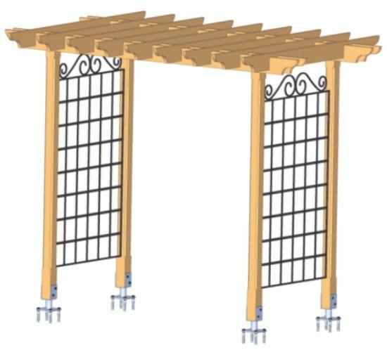 Best ideas about DIY Trellis Plans . Save or Pin 21 Brilliant DIY Backyard Arbor Ideas Now.