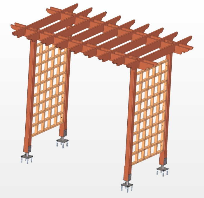 Best ideas about DIY Trellis Plans . Save or Pin Woodwork machines south africa plans to build a trellis Now.