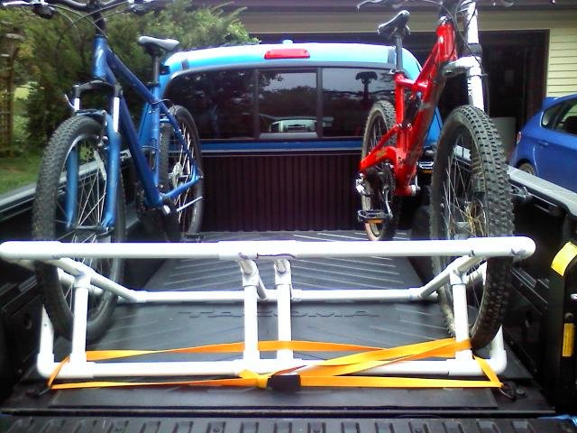 Best ideas about DIY Truck Bed Bike Rack . Save or Pin DIY truck bed bike rack Now.
