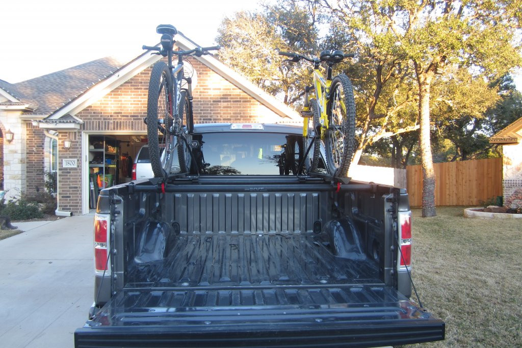 Best ideas about DIY Truck Bed Bike Rack . Save or Pin DIY Over Truck Bed Rack Mtbr Now.