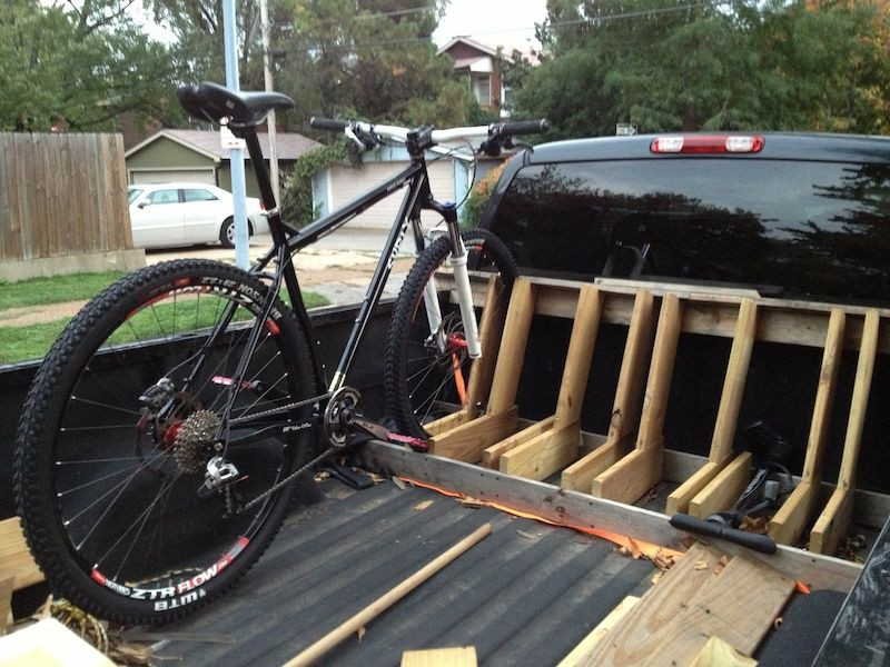 Best ideas about DIY Truck Bed Bike Rack . Save or Pin brand new build … DIY Now.