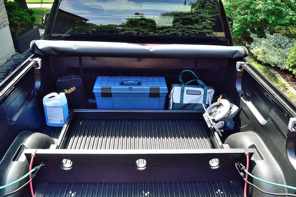 Best ideas about DIY Truck Bed Divider . Save or Pin A wood Pickup Truck Bed Divider to keep your stuff from Now.