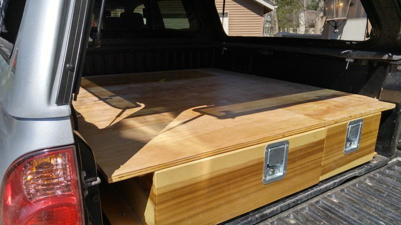 Best ideas about DIY Truck Bed Drawers . Save or Pin Show us your truck bed sleeping platform drawer storage Now.