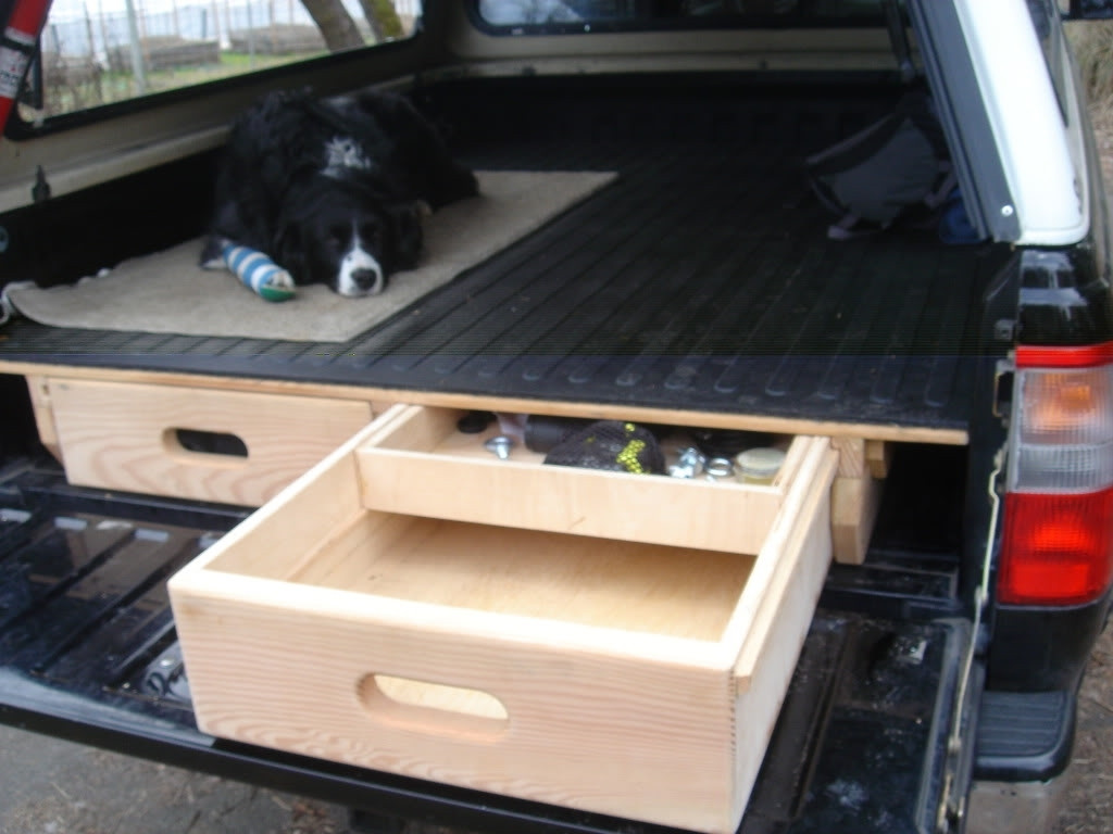 Best ideas about DIY Truck Bed Drawers . Save or Pin DIY Truck Bed Storage Drawers Now.