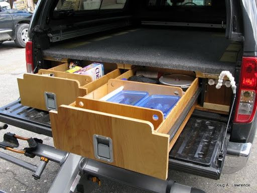 Best ideas about DIY Truck Bed Drawers . Save or Pin 14 Sliding Truck Drawer System · Now.