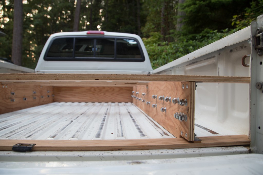 Best ideas about DIY Truck Bed Organizer . Save or Pin What This Guy Does To The Back His Truck Is Borderline Now.