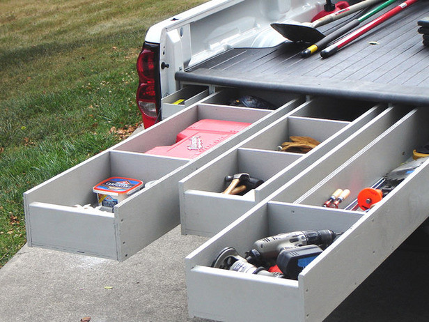 Best ideas about DIY Truck Bed Organizer . Save or Pin DIY Truck Bed Storage Now.