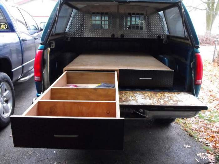 Best ideas about DIY Truck Bed Organizer . Save or Pin Learn how to install a sliding truck bed drawer system Now.