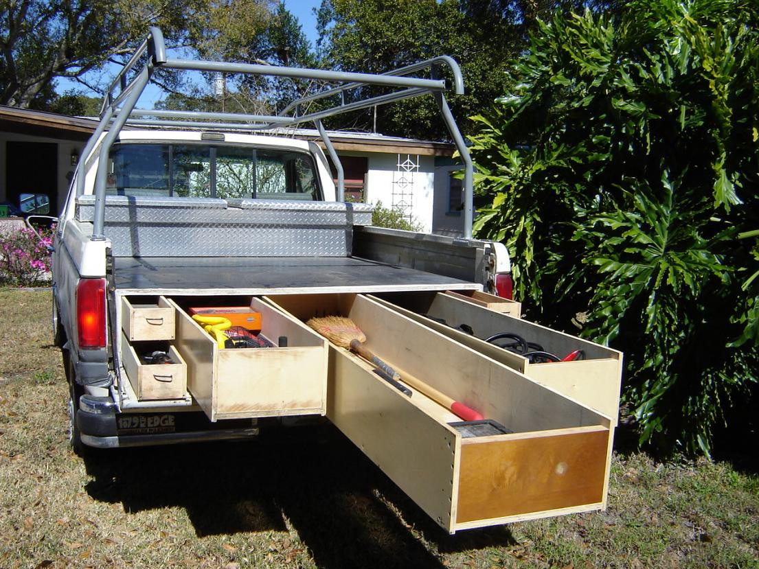 Best ideas about DIY Truck Bed Organizer . Save or Pin Pics s Bed Storage Pick Up Bed Organizer Diy Truck Now.