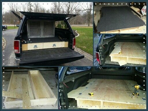 Best ideas about DIY Truck Bed Organizer . Save or Pin Truck bed storage Dog kennels and Truck bed on Pinterest Now.