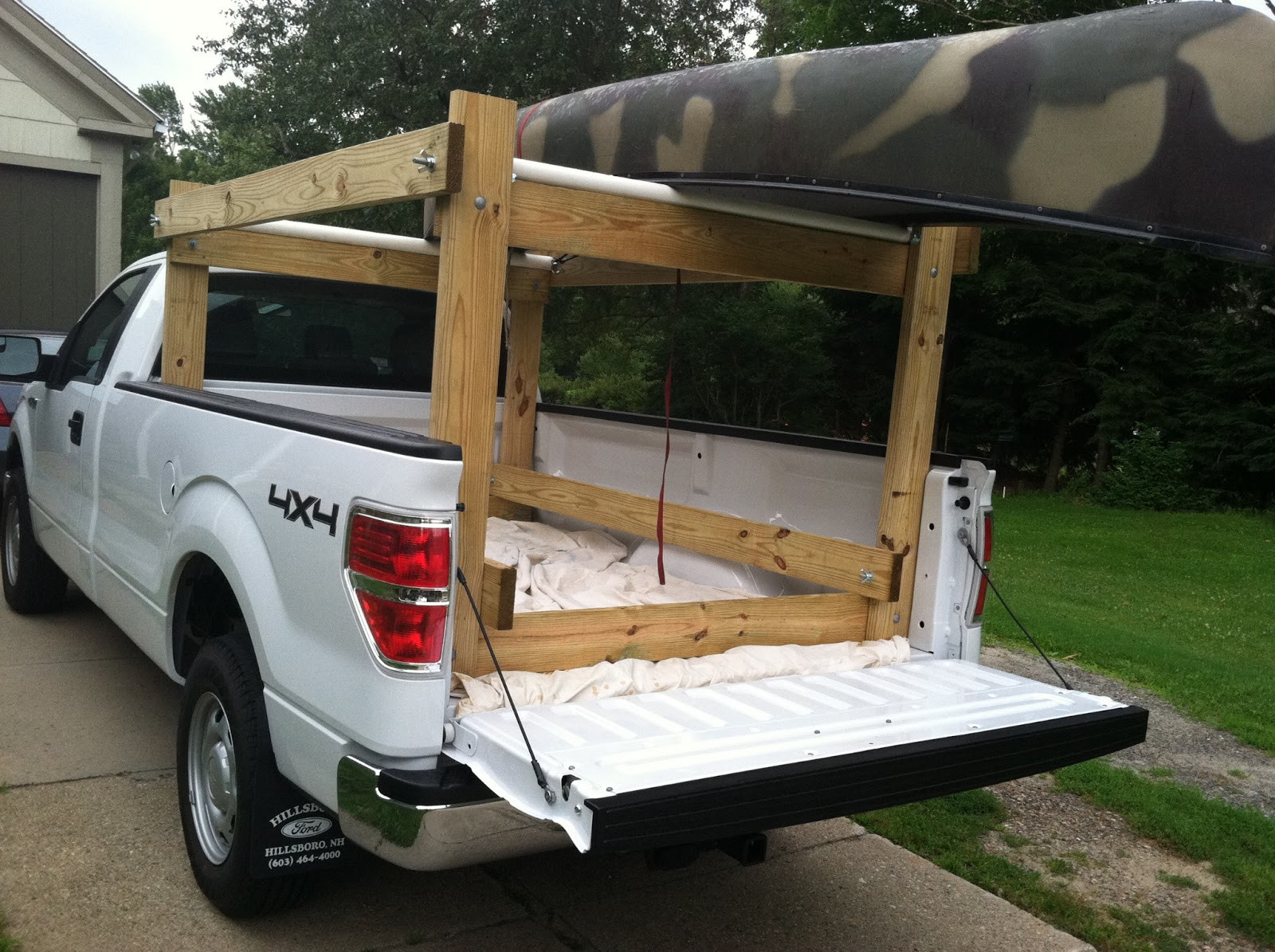 Best ideas about DIY Truck Racks . Save or Pin Howdy Ya Dewit Easy Homemade Canoe Kayak Ladder and Now.