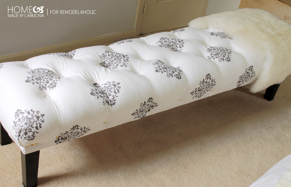 Best ideas about DIY Tufted Bench . Save or Pin Stunning DIY Tufted Bench Now.