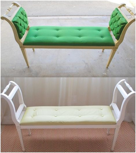 Best ideas about DIY Tufted Bench Cushion . Save or Pin DIY Tufted Bench Transformation Now.