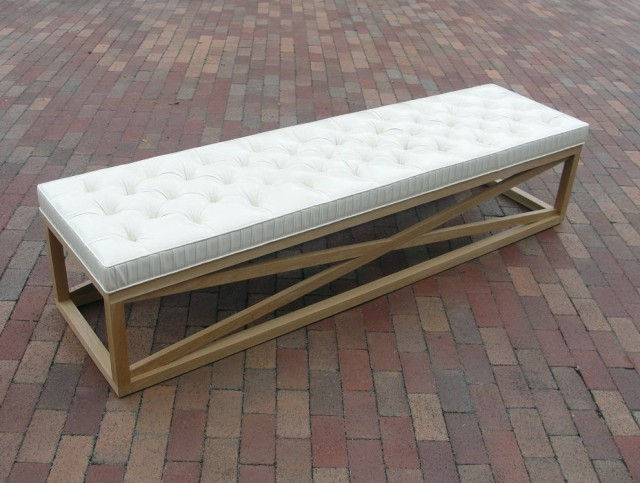 Best ideas about DIY Tufted Bench Cushion . Save or Pin Tufted Dining Bench Cushion Now.