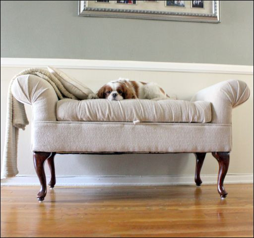Best ideas about DIY Tufted Bench . Save or Pin DIY How To Reupholster A Tufted Bench Make Over Now.