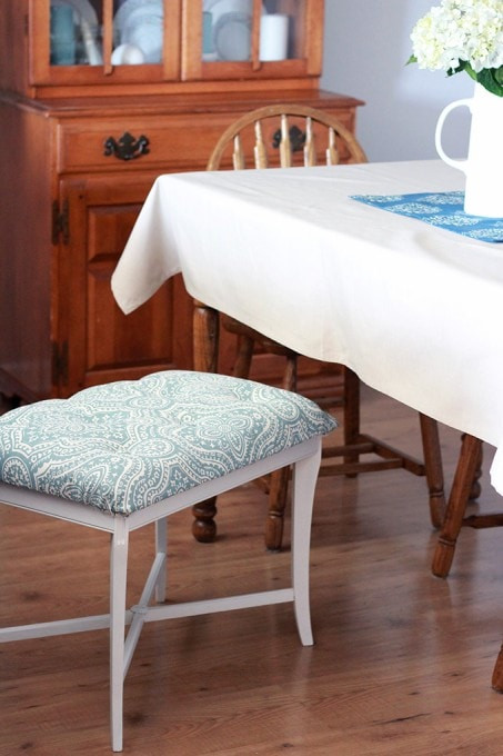 Best ideas about DIY Tufted Bench . Save or Pin DIY Tufted Bench Just a Girl and Her Blog Now.