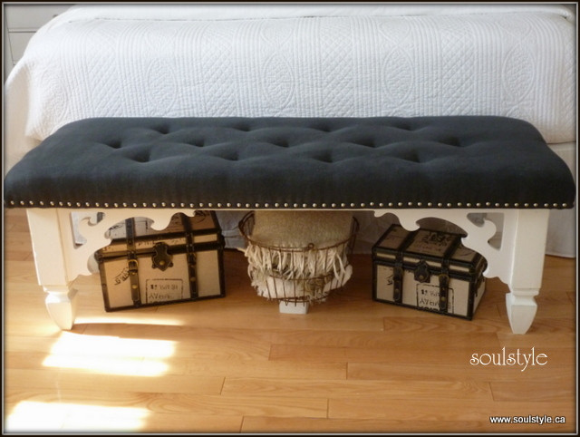 Best ideas about DIY Tufted Bench . Save or Pin Hometalk Now.