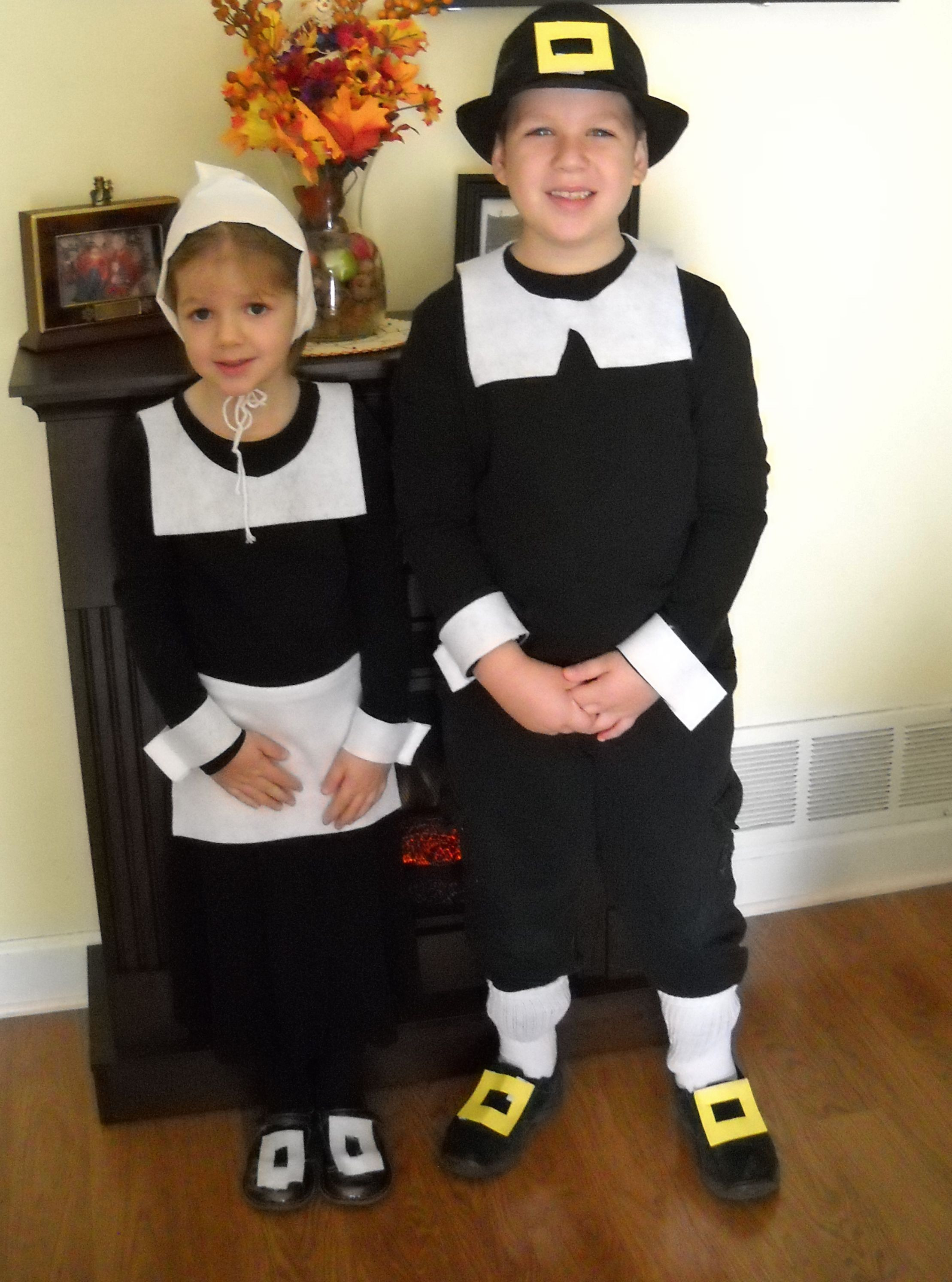 Best ideas about DIY Turkey Costume . Save or Pin Pilgrim costumes udderlysmooth thanksgiving Now.
