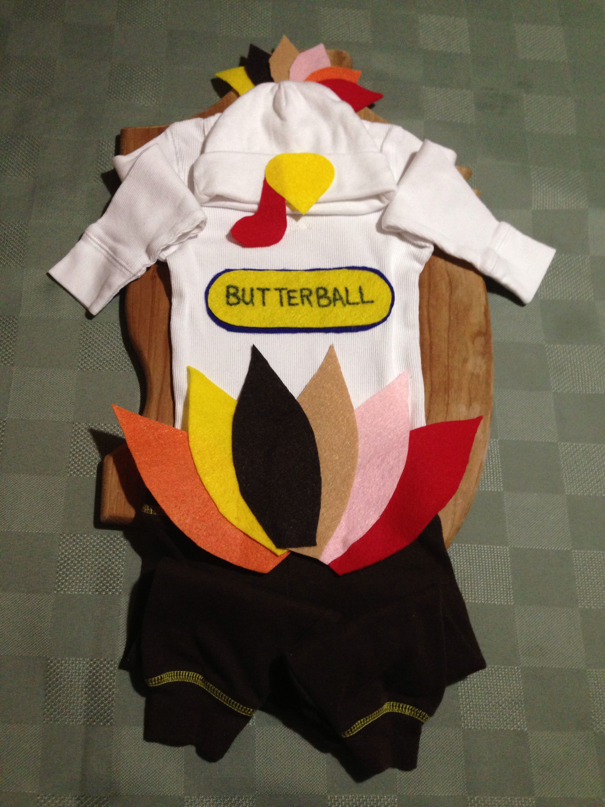 Best ideas about DIY Turkey Costume . Save or Pin DIY Thanksgiving outfit turkey costume for baby How cute Now.