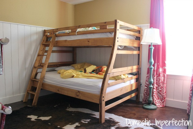 Best ideas about DIY Twin Over Full Bunk Bed . Save or Pin The bunk beds that we didn t build Domestic Imperfection Now.
