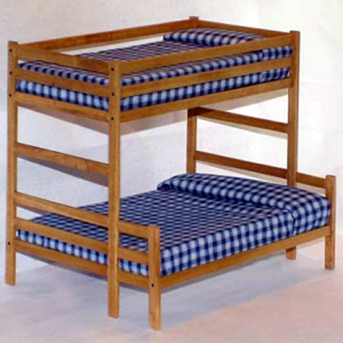Best ideas about DIY Twin Over Full Bunk Bed . Save or Pin Twin Over Full Bunk Bed Woodworking Plans Patterns Now.