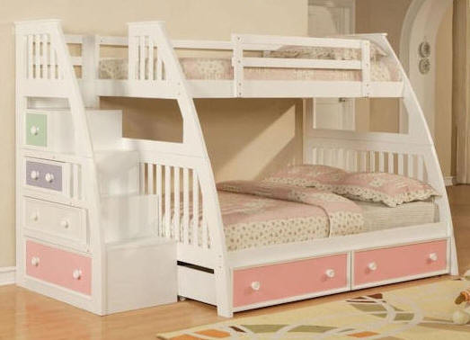 Best ideas about DIY Twin Over Full Bunk Bed . Save or Pin Wood Diy Bunk Bed Twin Over Full PDF Plans Now.
