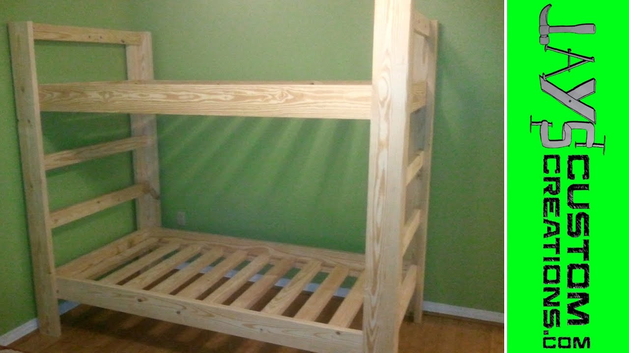 Best ideas about DIY Twin Over Full Bunk Bed . Save or Pin Twin Over Twin Bunk Bed 023 Now.