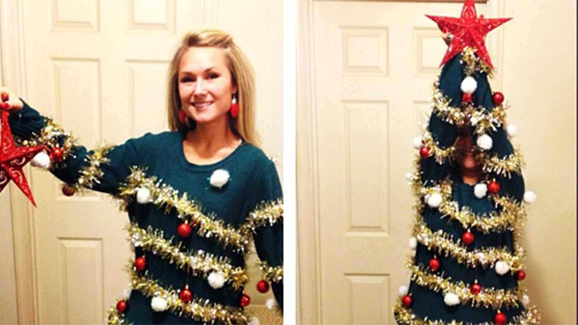Best ideas about DIY Ugly Christmas Sweater . Save or Pin 7 DIY ugly Christmas sweaters from Pinterest TODAY Now.