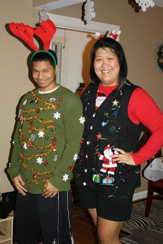 Best ideas about DIY Ugly Christmas Sweater . Save or Pin EYE CATCHING ATTRACTIVE HANDMADE UGLY SWEATER IDEAS FOR Now.