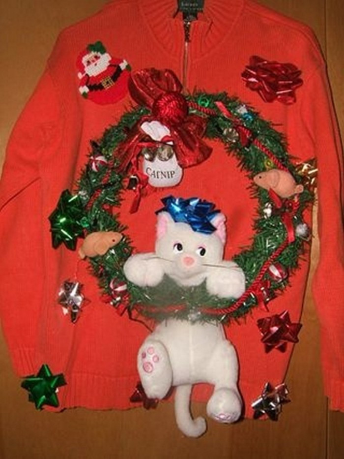 Best ideas about DIY Ugly Christmas Sweaters Ideas . Save or Pin Top 10 Ugliest Christmas Sweater Ideas Now.