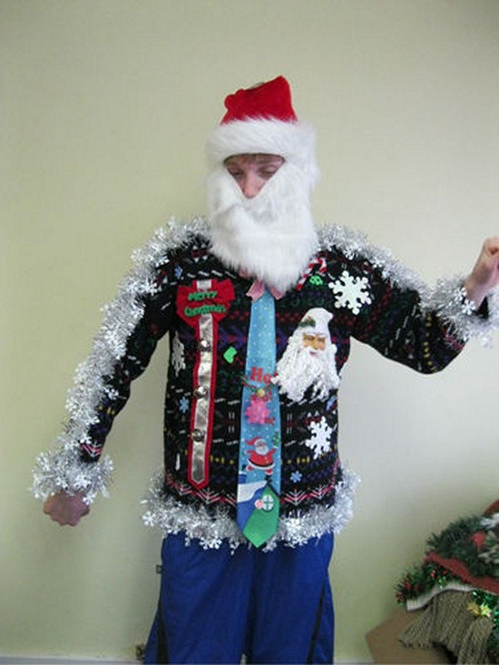 Best ideas about DIY Ugly Christmas Sweaters Ideas . Save or Pin 26 Easy DIY Ugly Christmas Sweater Ideas Snappy Now.