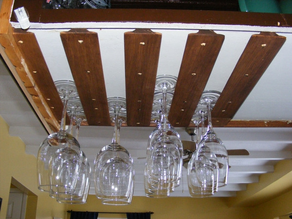 Best ideas about DIY Under Cabinet Wine Glass Rack . Save or Pin Build Wine Glass Rack Under Cabinet Plans DIY wing chun Now.