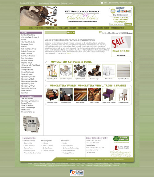 Best ideas about DIY Upholstery Supply . Save or Pin Store Spotlight DIY Upholstery Supply Miva Blog Now.