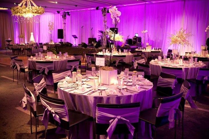 Best ideas about DIY Uplighting Wedding . Save or Pin 17 Best images about Purple Uplighting on Pinterest Now.