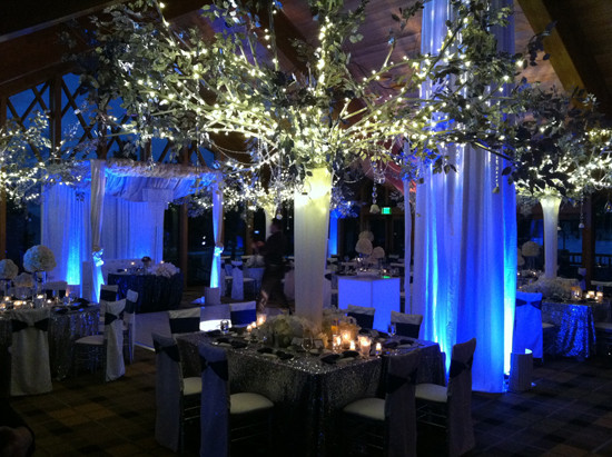 Best ideas about DIY Uplighting Wedding . Save or Pin Indoor Wedding Lighting How to Illuminate Your Wedding Now.