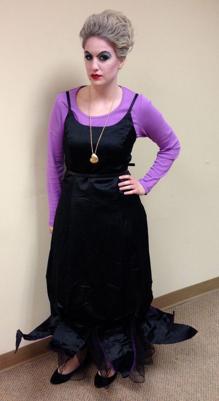 Best ideas about DIY Ursula Costume . Save or Pin DIY Disney Halloween Costume Ursula Now.