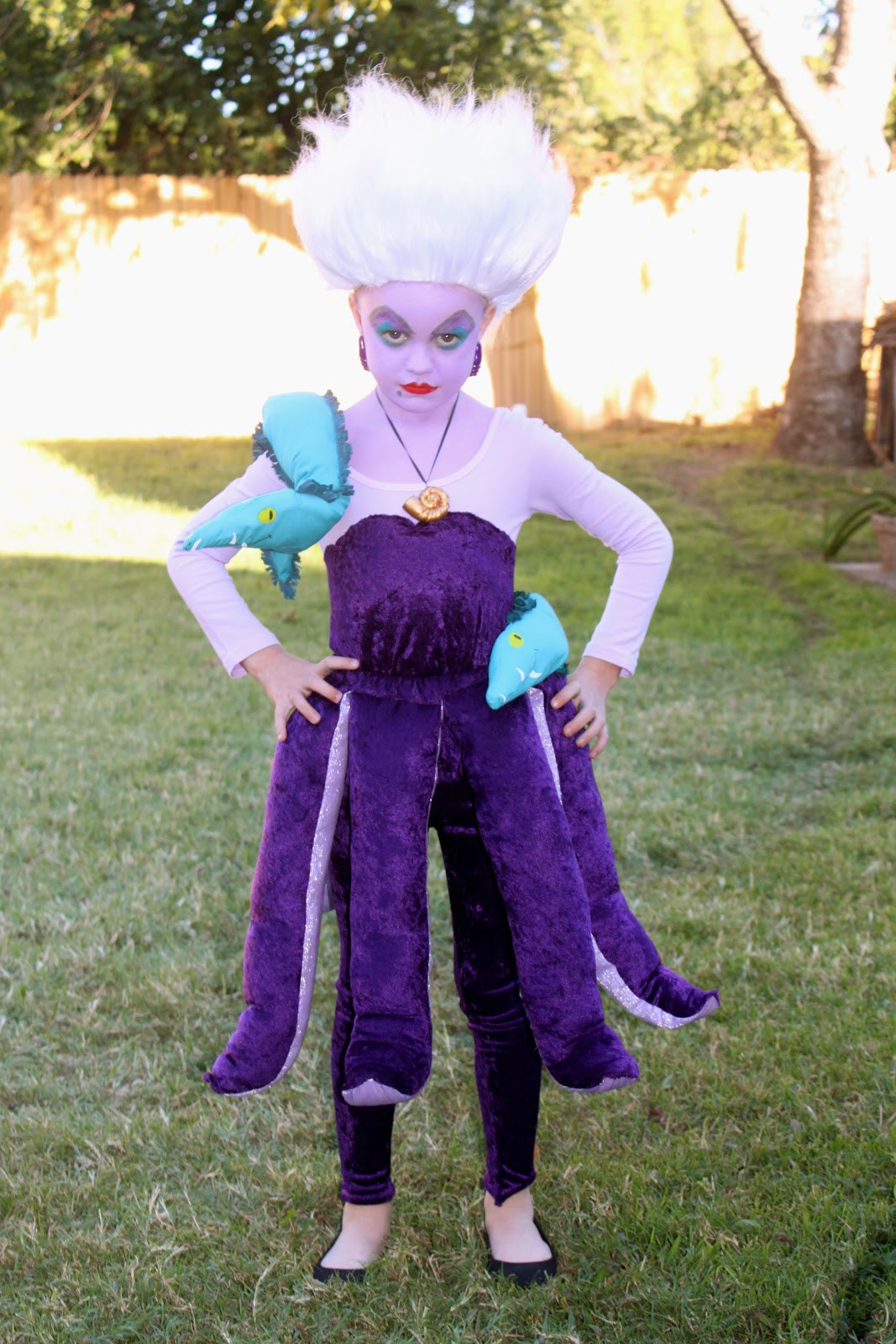 Best ideas about DIY Ursula Costume . Save or Pin sweet savannah Ursula The Sea Witch & Wayne Campbell Now.